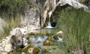 Castril:  Nacimiento del rio Castril. Altiplano Granadino