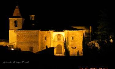 Castril:  Iglesia Ntra. Sra. de los Ángeles