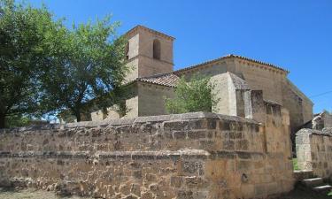 Villacadima:  Iglesia románica de San Pedro,