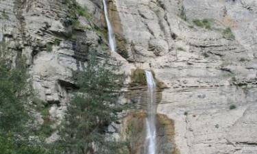 Broto:  Cascada Sorrosal, Broto