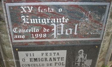 Mosteiro:  Voy todos los años,el 24 de agosto se celebra la fiesta del inmigrante,es muy interesante.