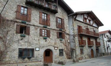 Burgui:  Casas típicas