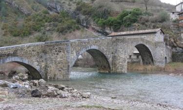 Burgui:  Puente romano