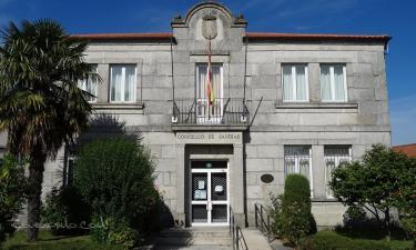 Sandiás:  Casa do concello de Sandiás