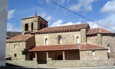 Cillamayor:  Vista de la iglesia de Cillamayor