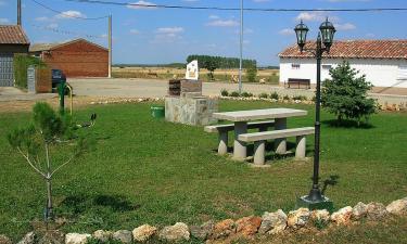 San Llorente del Páramo:  Jardín