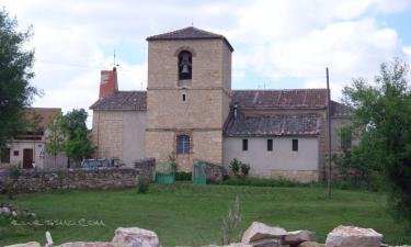 Santiuste de Pedraza:  Iglesia de la Mata