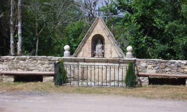 Santiuste de Pedraza:  hornacina de Santa Isabel