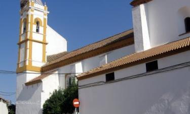 Almadén de la Plata:  Santa María de Gracia