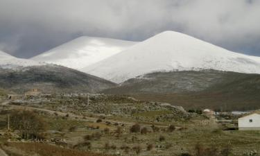 Cueva de Agreda:  Moncayo estos días de invierno