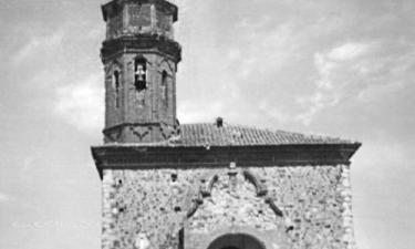 Collados:  Asi era la Iglesia desde el Siglo XVIII.