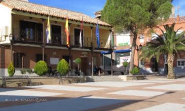 Pantoja:  Iglesia de Pantoja