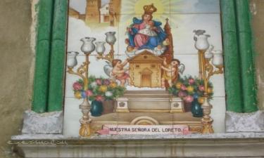Casas de Moya:  azulejos