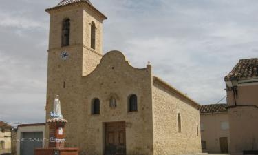 Casas de Moya:  Iglésa de San Antonio Abad
