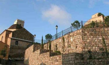 Jalance:  JalanceFuente de la Piña, es una de las muchas fuentes que podemos encontrar por sus calles, junto a ella encontramos un panel cerámico pintado a mano donde se recrea una escena histórica acompañada de un panel explicativo.
