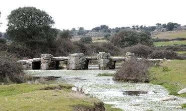 Almeida de Sayago:  Puente El Rebollar, de origen romano o tardo-romano