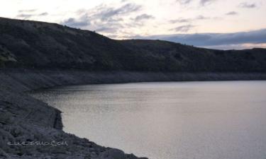 San Pedro de La Nave-Almendra:  Embalse de ricobayo en Almendra