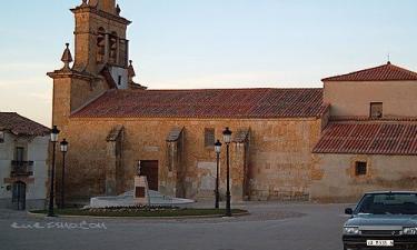 Sanzoles:  La iglesia de la localidad