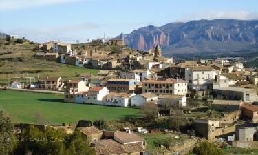 Santa Eulalia de Gállego:  Vista general de Santa Eulalia de Gállego
