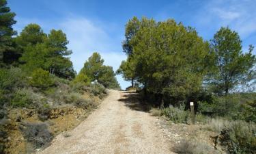 Santa Eulalia de Gállego:  Sendero para btt a la ermita de Santa Quiteria