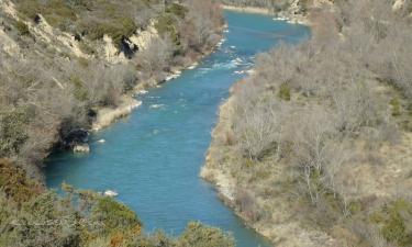 Santa Eulalia de Gállego:  río Gállego a su paso por Santa Eulalia de Gállego