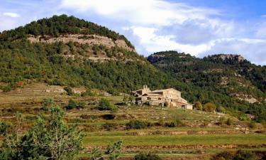 Listado alojamientos rurales en Comarca del Bergadá
