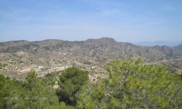 Listado alojamientos rurales en Parque Regional del Valle y Carrascoy