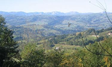 Listado alojamientos rurales en Valle de Carranza