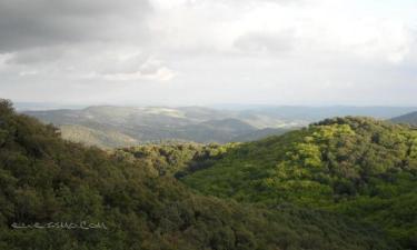 Listado alojamientos rurales en Parque Natural de la Sierra Norte Sevillana