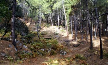 Listado alojamientos rurales en Reserva Natural del Valle de Iruelas