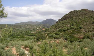 Listado alojamientos rurales en Parque natural de la Sierra de Espadán