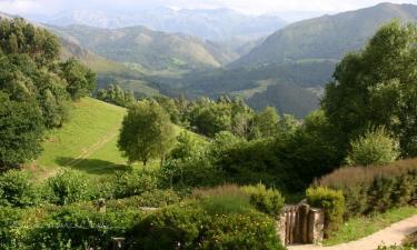 Listado alojamientos rurales en Sierra de Cuera