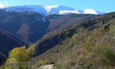 Listado alojamientos rurales en La Sierra de la Demanda