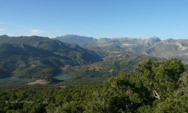 Listado alojamientos rurales en El Parque Natural de Grazalema