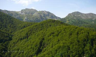 Listado alojamientos rurales en El Parque Natural de Saja Besaya