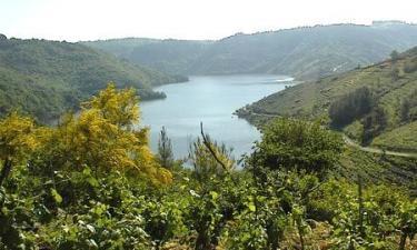 Listado alojamientos rurales en Ribeira Sacra