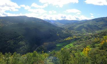 Listado alojamientos rurales en Parque Natural de la Sierra de Cebollera