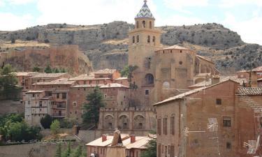 Listado alojamientos rurales en Sierra de Albarracín