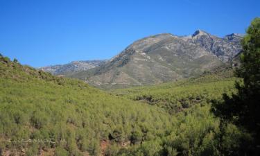 Listado alojamientos rurales en Sierra de Cardeña y Montoro