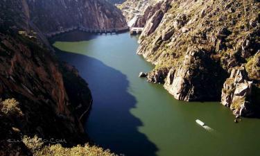 Listado alojamientos rurales en Parque Natural de Arribes del Duero