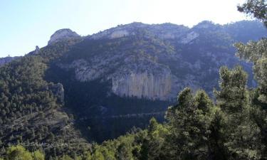 Listado alojamientos rurales en Sierra de Mariola