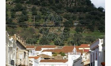 Pueblos extremeños en la frontera entre España y Portugal.