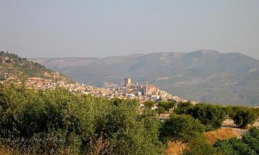 Listado alojamientos rurales en Sierras de Los Álamos, Gavilán, Muela y Cerezo