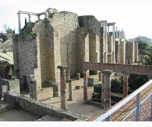 Teatro romano de m rida en m rida badajoz extremadura - Alojamiento rural merida ...