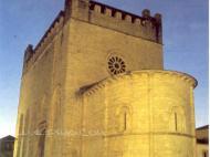 Iglesia de San Xoán de Portomarín Portomarín