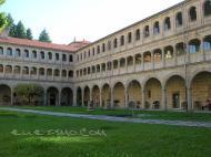 Monasterio de Santo Estevo de Ribas de Sil  Nogueira