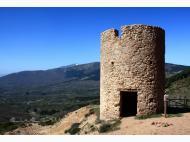 Torre de la mina Bustarviejo