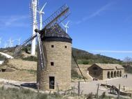 Parque eólico Güerinda San Martín de Unx