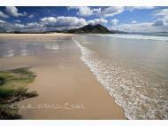 Playa de Lago Louro - Las Dunas Muros