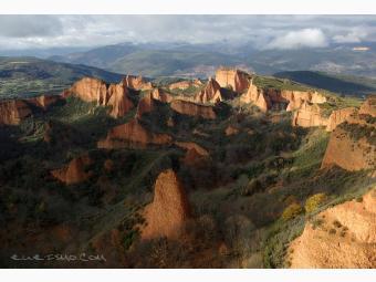 Ruta de Villafranca del Bierzo a las Médulas